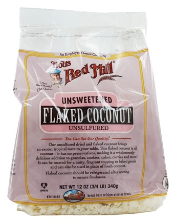 Bob's Red Mill - Unsweetened Flaked Coconut - 12 oz.