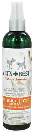 DROPPED: Vet's Best - Flea & Tick Spray - 8 oz. CLEARANCE PRICED