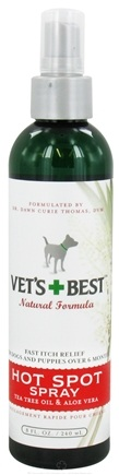 DROPPED: Vet's Best - Hot Spot Spray - 8 oz. CLEARANCE PRICED