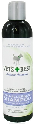 DROPPED: Vet's Best - Hypo-Allergenic Shampoo - 8 oz. CLEARANCE PRICED