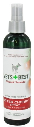 DROPPED: Vet's Best - Bitter Cherry Spray - 7.5 oz. CLEARANCE PRICED