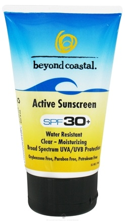DROPPED: Beyond Coastal - Sunscreen Daily Active 30 SPF - 2.5 oz. CLEARANCE PRICED