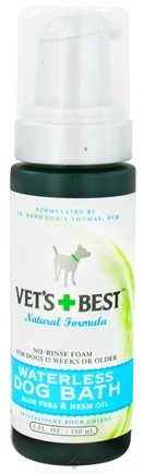DROPPED: Vet's Best - Waterless Dog Bath - 5 oz. CLEARANCE PRICED