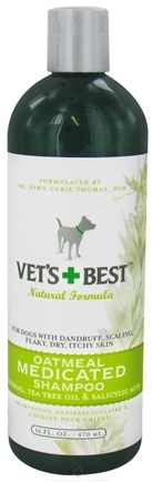 DROPPED: Vet's Best - Oatmeal Medicated Shampoo - 16 oz. CLEARANCE PRICED