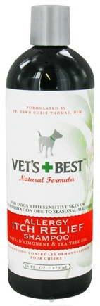 DROPPED: Vet's Best - Allergy Itch Relief Shampoo - 16 oz. CLEARANCE PRICED