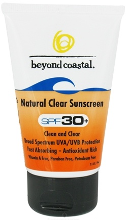 DROPPED: Beyond Coastal - Sunscreen Natural Clear 30 SPF - 2.5 oz. CLEARANCE PRICED