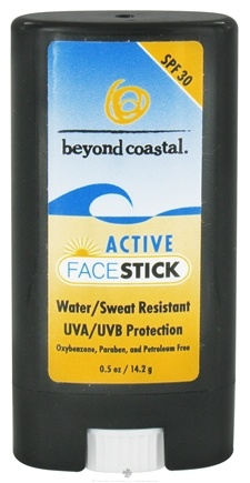 DROPPED: Beyond Coastal - Face Stick Active 30 SPF - 0.5 oz. CLEARANCE PRICED