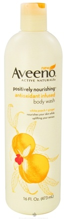 DROPPED: Aveeno - Active Naturals Positively Nourishing Body Wash Antioxidant Infused White Peach + Ginger - 16 oz. CLEARANCE PRICED