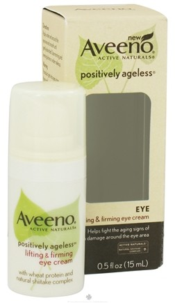 DROPPED: Aveeno - Active Naturals Positively Ageless Lifting & Firming Eye Cream - 0.5 oz. CLEARANCE PRICED