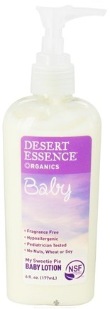 DROPPED: Desert Essence - Baby My Sweetie Pie Baby Lotion - 6 oz. CLEARANCE PRICED