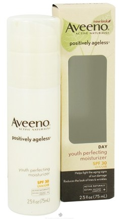 DROPPED: Aveeno - Active Naturals Positively Ageless Day Youth Perfecting Moisturizer 30 SPF - 2.5 oz. CLEARANCE PRICED