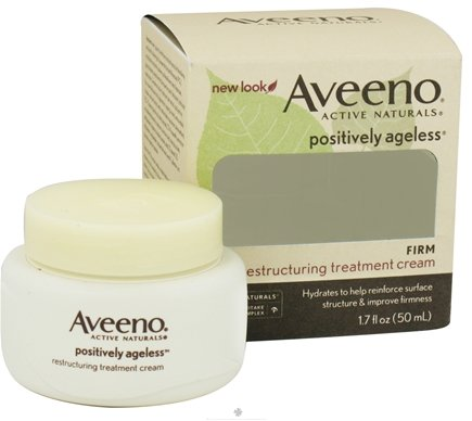 DROPPED: Aveeno - Active Naturals Positively Ageless Firm Restructuring Treatment Cream - 1.7 oz. CLEARANCE PRICED