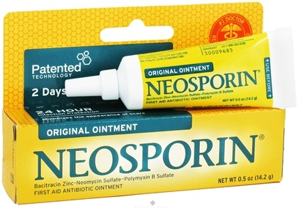 DROPPED: Neosporin - Original First Aid Antiobiotic Ointment - 0.5 oz. CLEARANCE PRICED