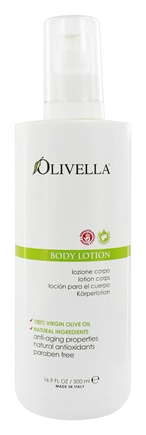 Olivella - Virgin Olive Oil Body Lotion - 16.9 oz.