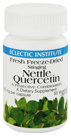 Eclectic Institute - Stinging Nettle Quercetin Fresh Freeze-Dried 350 mg. - 50 Vegetarian Capsules