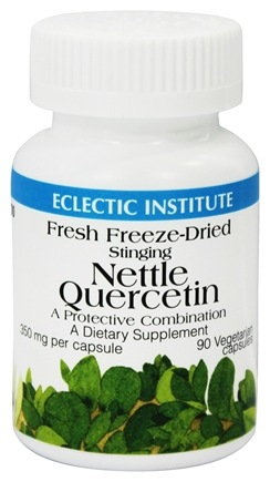 Eclectic Institute - Stinging Nettle Quercetin Fresh Freeze-Dried 350 mg. - 90 Vegetarian Capsules