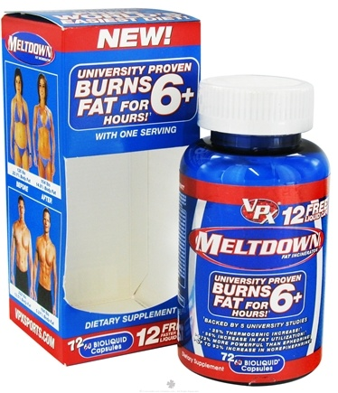 DROPPED: VPX - Meltdown Fat Incinerator - 72 Capsules CLEARANCE PRICEED