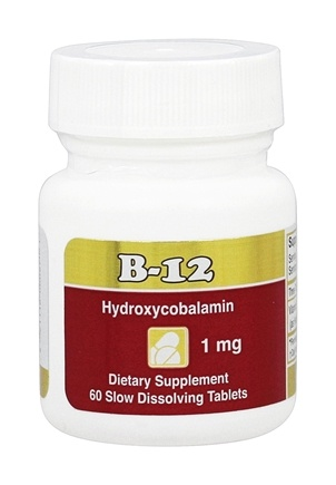 DROPPED: Intensive Nutrition, Inc. - B-12 Hydroxycobalamin 1000 mcg. - 60 Tablets