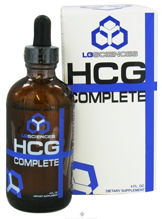 DROPPED: LG Sciences - HCG Complete - 4 oz. CLEARANCE PRICED