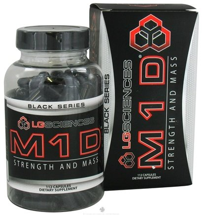 DROPPED: LG Sciences - M1D Black Series Strength And Mass - 112 Capsules