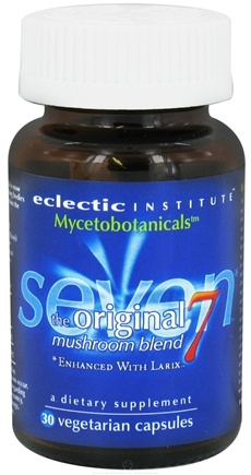 DROPPED: Eclectic Institute - Mycetobotanicals Original Seven Mushroom Blend - 30 Vegetarian Capsules CLEARANCE PRICED