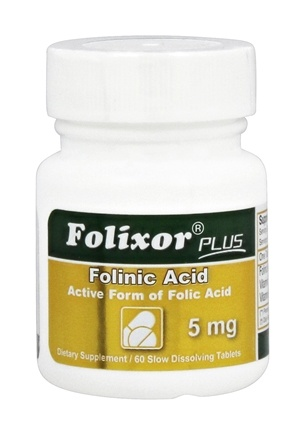 DROPPED: Intensive Nutrition, Inc. - Folixor Sublingual Folic Acid 5 mg. - 50 Tablets CLEARANCE PRICED