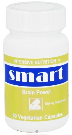 DROPPED: Intensive Nutrition, Inc. - Smart Brain Power - 60 Vegetarian Capsules CLEARANCE PRICED