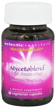 DROPPED: Eclectic Institute - Mycetobotanicals Mycetoblend Fresh Freeze-Dried 575 mg. - 30 Vegetarian Capsules CLEARANCE PRICED