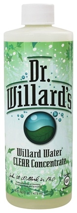 DROPPED: Dr. Willard's - Willard Water Clear Concentrate - 16 oz.