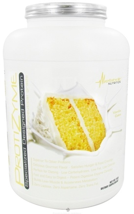 DROPPED: Metabolic Nutrition - ProtiZyme Specialized Designed Protein Vanilla Cake - 5 lbs. CLEARANCE PRICED