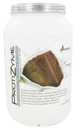 DROPPED: Metabolic Nutrition - ProtiZyme Specialized Designed Protein Chocolate Cake - 2 lbs. CLEARANCE PRICED