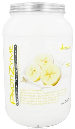 DROPPED: Metabolic Nutrition - ProtiZyme Specialized Designed Protein Banana Creme - 2 lbs. CLEARANCE PRICED