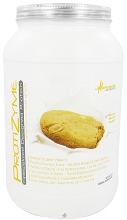 DROPPED: Metabolic Nutrition - ProtiZyme Specialized Designed Protein Peanut Butter Cookie - 2 lbs. CLEARANCE PRICED
