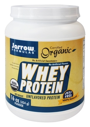 DROPPED: Jarrow Formulas - Organic Whey Protein Powder Unflavored - 16 oz.