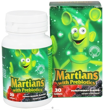 DROPPED: Natural Choice New York - Martians with Prebiotics Forestberry Flavor - 30 Tablets CLEARANCE PRICED