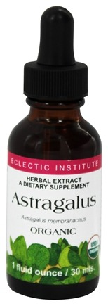 Eclectic Institute - Astragalus Organic Herbal Extract - 1 oz.