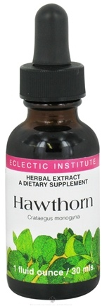 DROPPED: Eclectic Institute - Hawthorn Herbal Extract - 1 oz. CLEARANCE PRICED