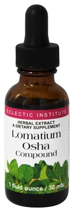 DROPPED: Eclectic Institute - Lomatium Osha Compound Herbal Extract - 1 oz.