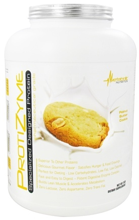 DROPPED: Metabolic Nutrition - ProtiZyme Specialized Designed Protein Peanut Butter Cookie - 5 lbs. CLEARANCE PRICED