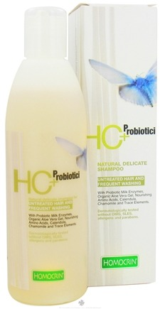 DROPPED: Homocrin - HC+Probiotici Natural Delicate Shampoo For Untreated Hair and Frequent Washing - 8.45 oz. CLEARANCE PRICED
