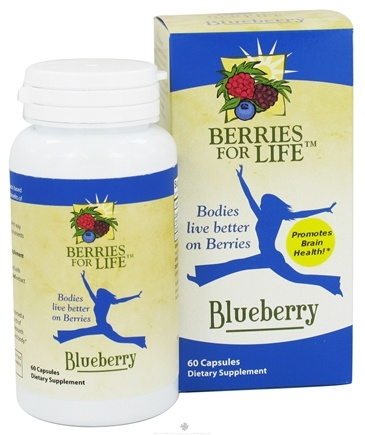 DROPPED: Berries for Life - Blueberry for Brain Health - 60 Capsules CLEARANCE PRICED
