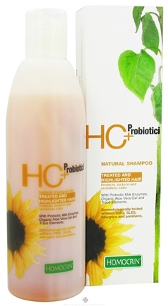 DROPPED: Homocrin - HC+Probiotici Natural Shampoo For Treated and Highlighted Hair - 8.45 oz.