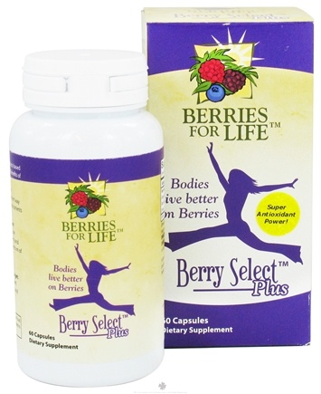 DROPPED: Berries for Life - Berry Select Plus - 60 Capsules