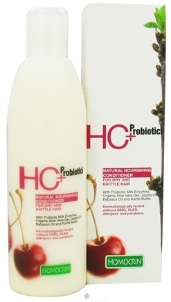 DROPPED: Homocrin - HC+Probiotici Natural Nourishing Conditioner For Dry and Brittle Hair - 8.5 oz.