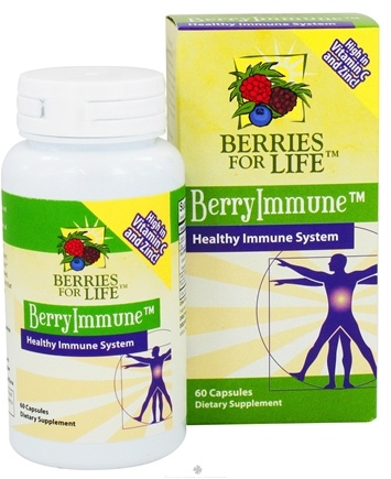 DROPPED: Berries for Life - BerryImmune for Healthy Immune System - 60 Capsules