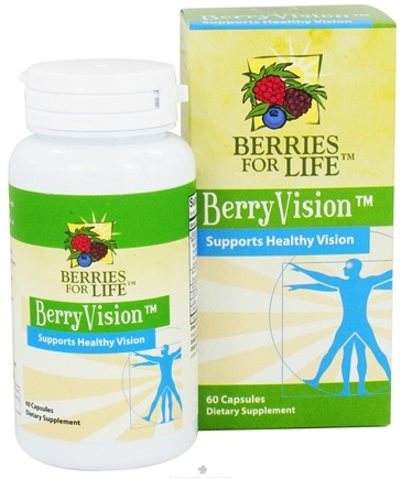 DROPPED: Berries for Life - BerryVision Supports Healthy Vision - 60 Capsules