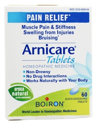 Boiron - Arnicare Pain Relief - 60 Tablets
