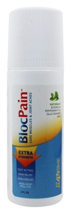 LifeTime Vitamins - BlocPain Extra Stregth Roll-On - 3 oz.