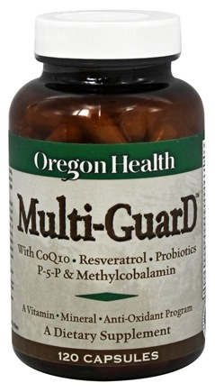 DROPPED: Oregon Health - Multi-GuarD with CoQ10 - 120 Capsules CLEARANCE PRICED