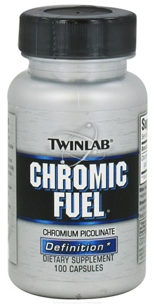 DROPPED: Twinlab - Chromic Fuel Chromium Picolinate - 100 Capsules CLEARANCE PRICED